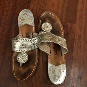 Silver Jack Rogers Size 8